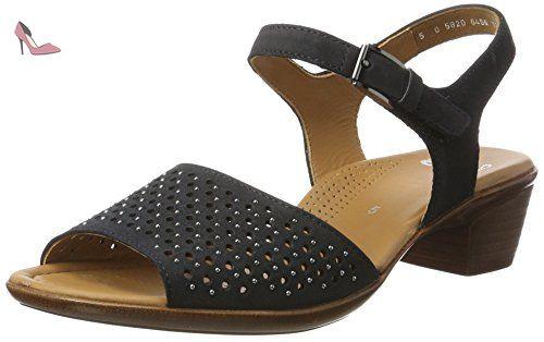 ara 12-35737-08, Sandales pour femme - gris - chiara,grigio, 39 EU