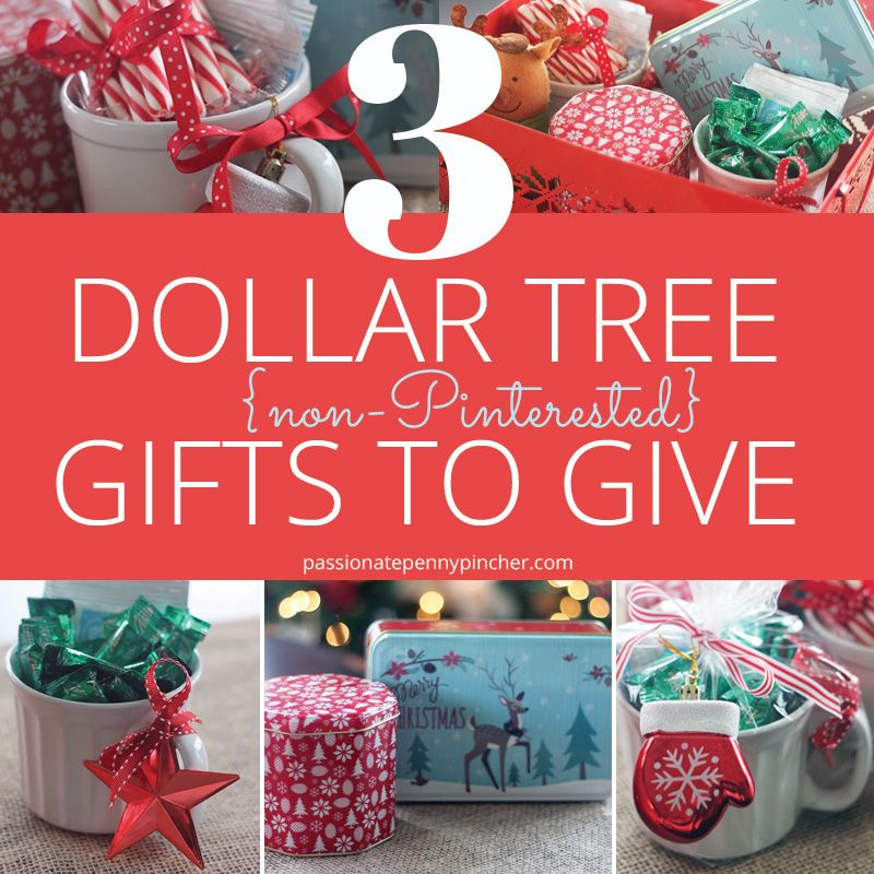 3 Dollar Tree {nonPinterested} Gifts to Give Dollar