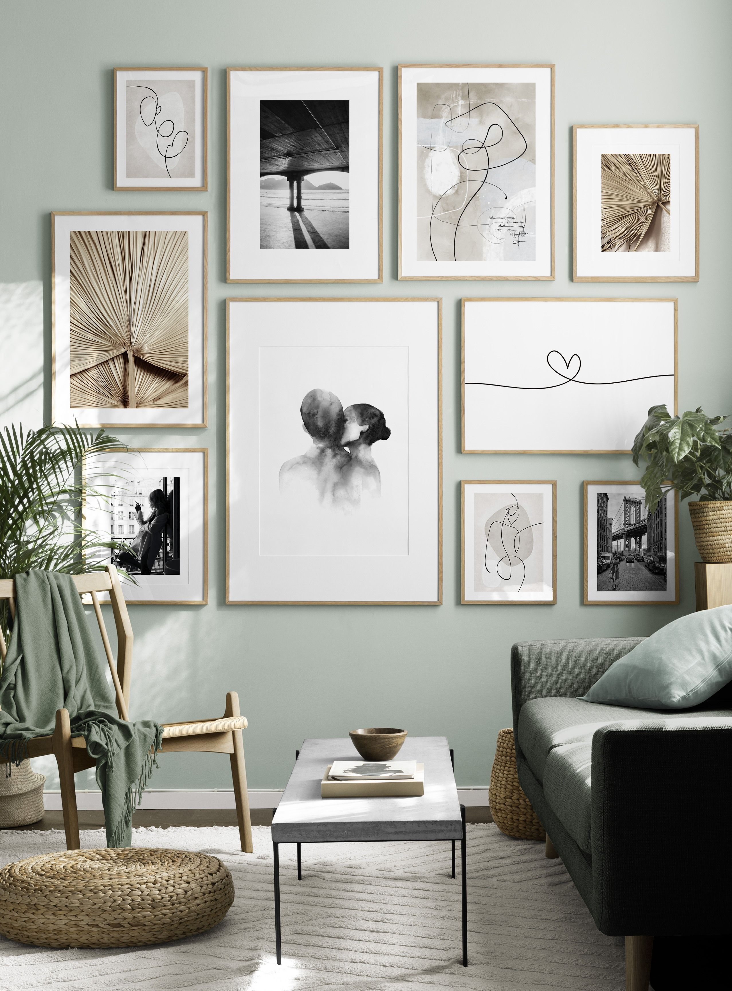 Gallery Wall For The Living Room Inspiration For The Living Room Desenio Picture Wall Living Room Gallery Wall Living Room Home Decor