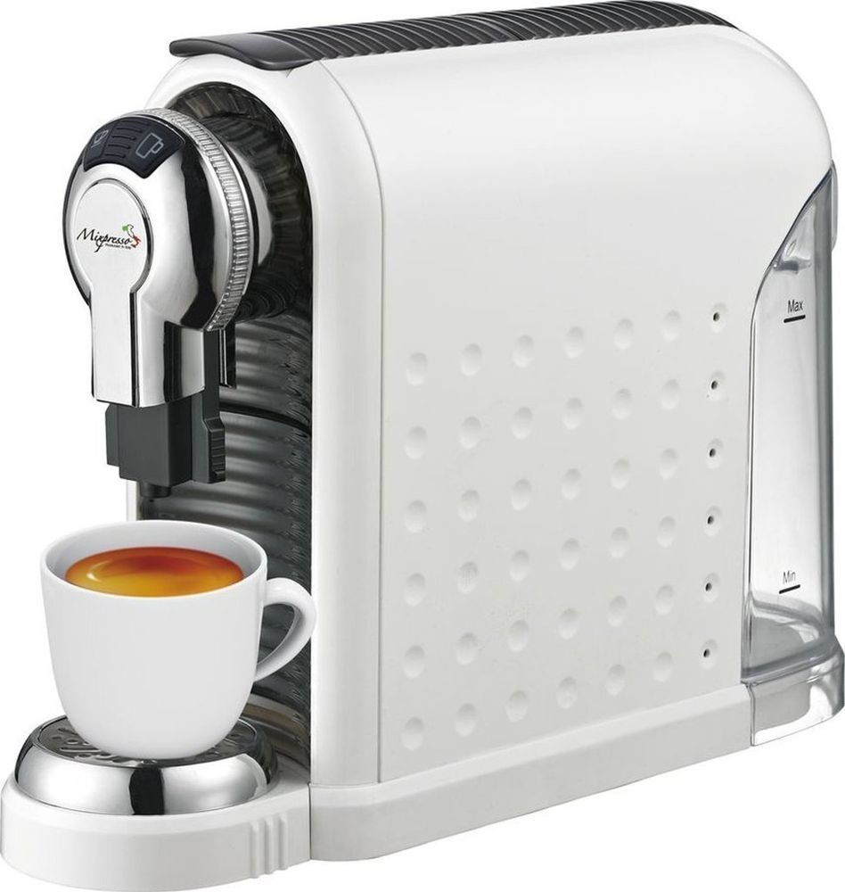 Espresso Machine For Nespresso Compatible Capsules By Mixpresso White