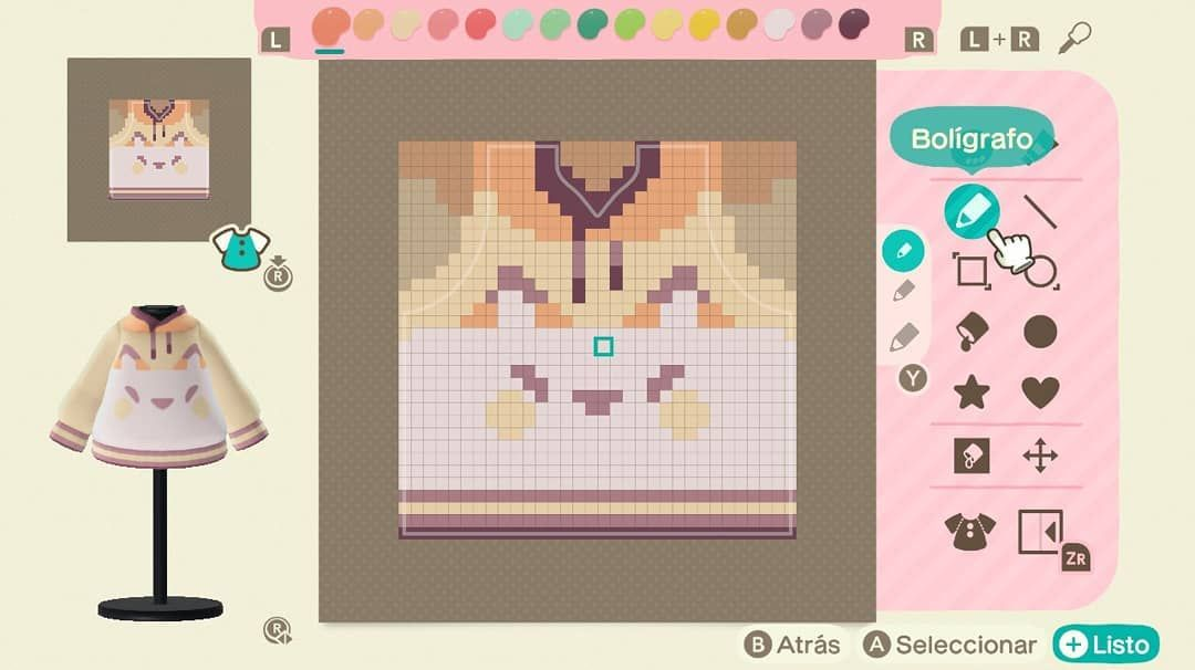 Animal Crossing Custom Designs On Instagram Fox Hoodie From Holamonimoni On Twitter Animalcrossi Animal Crossing New Animal Crossing Animal Crossing Qr