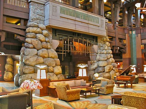 Grand Californian Hotel Fireplace Grand Californian Disney Grand Californian Hotel Disney Hotels