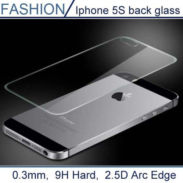 0.3 미리메터 프리미엄 다시 강화 유리 iphone 5 5 s 9 h 하드 2.5D 아크 가장자리 높은 투명 화면 보호기 깨끗한 도구