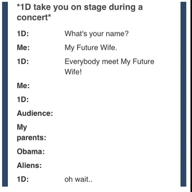 Haha, it's gonna happen. Lol. :P
