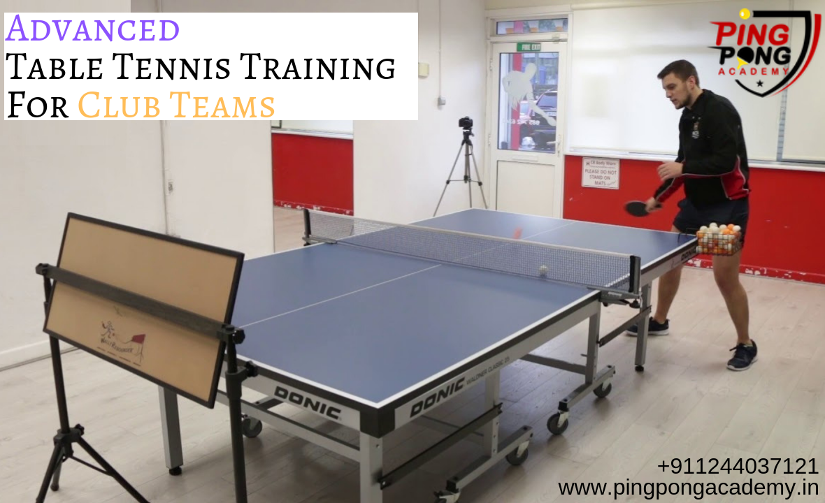 We Ping Pong Academy Design Advanced Table Tennis Serve