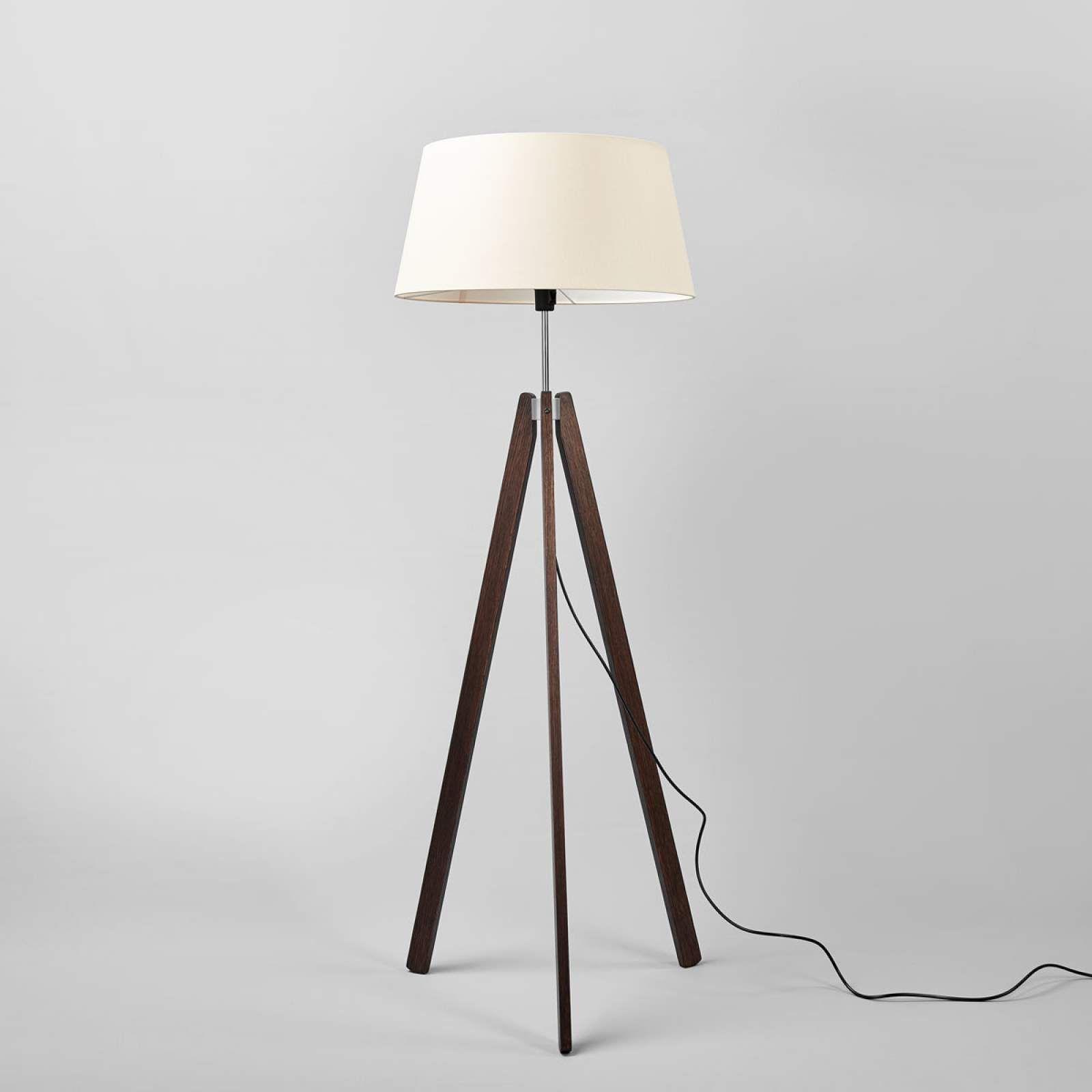 Designer Stehlampe Von Lucande Braun Stehlampe Lampen Und