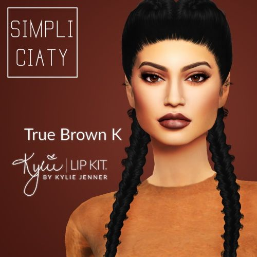 simpliciaty kylie lip kit sims 4 downloads make up pinterest