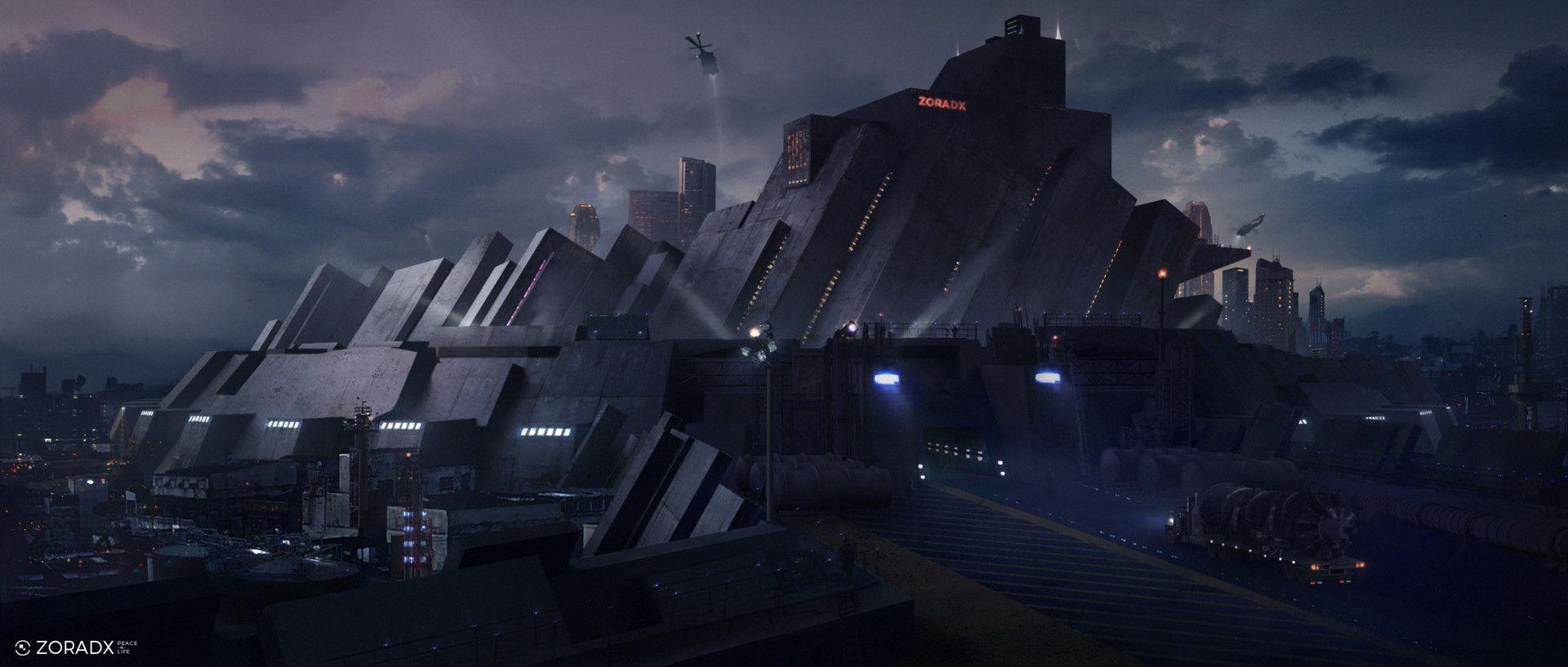 ArtStation - ZoradX - The Wall, Lucas Peinador