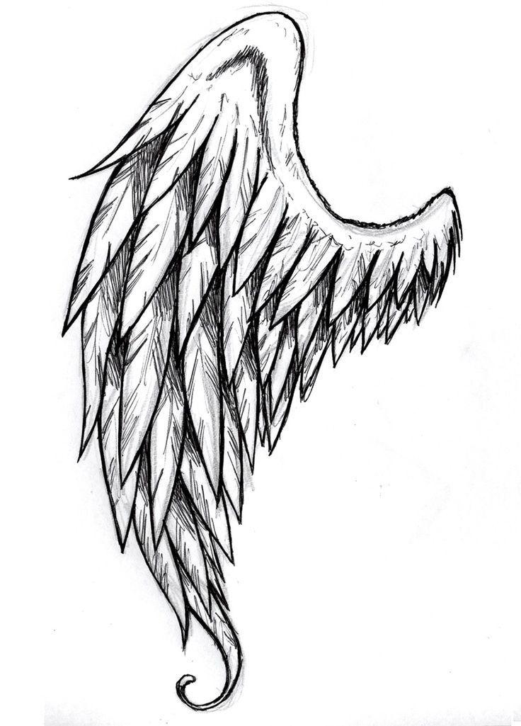 33d9c25a9717d8af5a6abdcc73b4d1a2 Jpg 736 1025 Wings Drawing Wings Sketch Angel Drawing