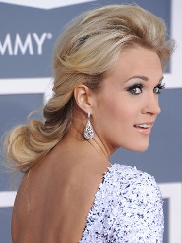 Famous Female Country Singer Carrie Underwood With Her Modified