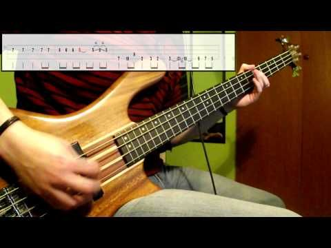 Nirvana - Lounge Act (Bass Cover) (Play Along Tabs In Video ...