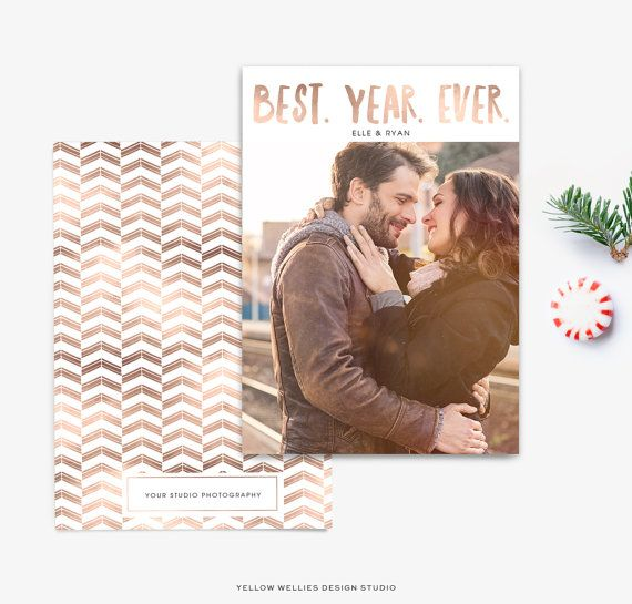 best year ever photoshop template holiday new year card template for photographers christmas photo card yellowwelliesdesigns