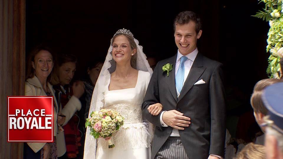 18/06/2016 La Princesse Alix de Ligne et le Comte Guillaume de Dampierre se sont mariés cet après-midi à Beloeil !
