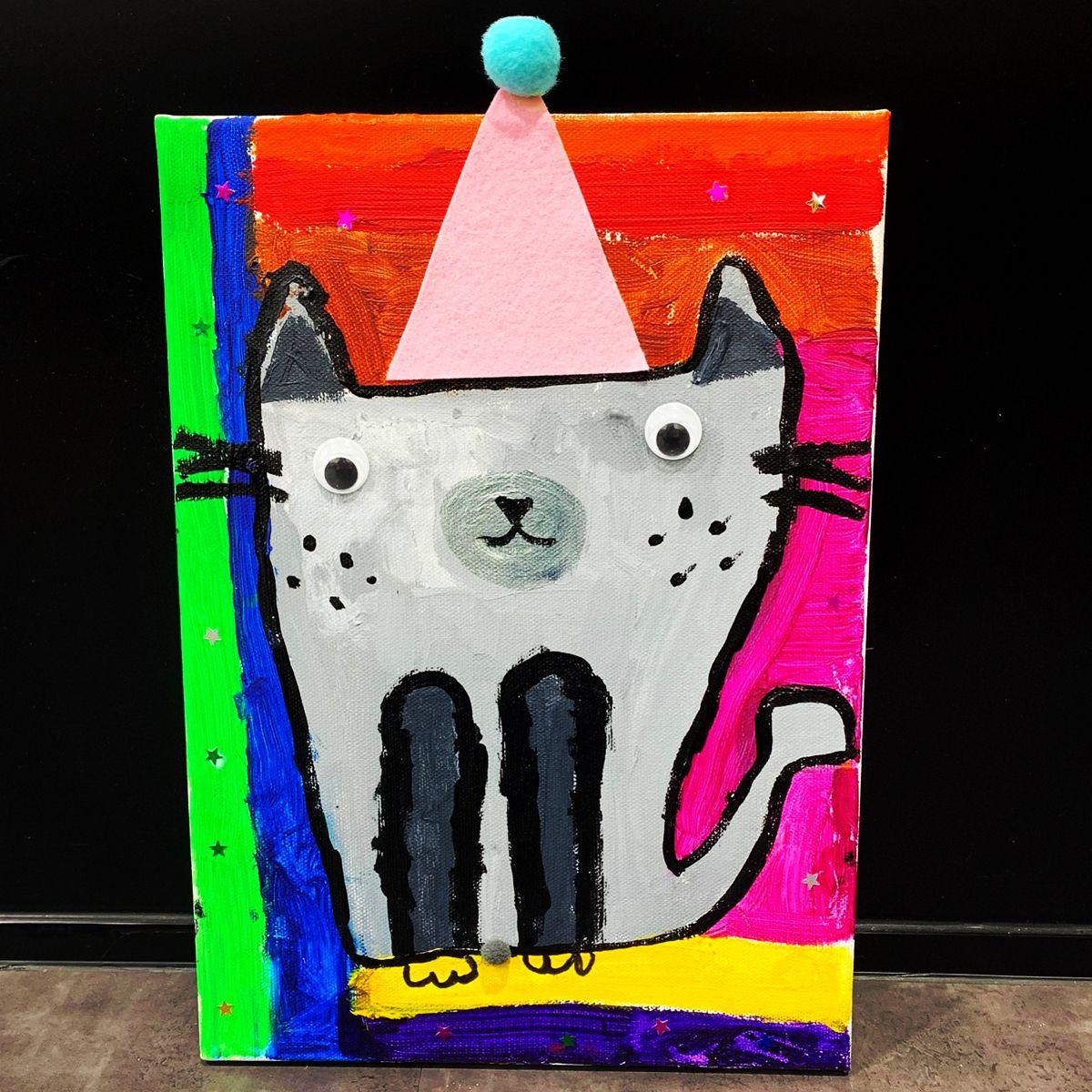 Kids Art Jamming In Our Studio In 2020 Art Lessons For Kids Art For Kids Pop Art Painting