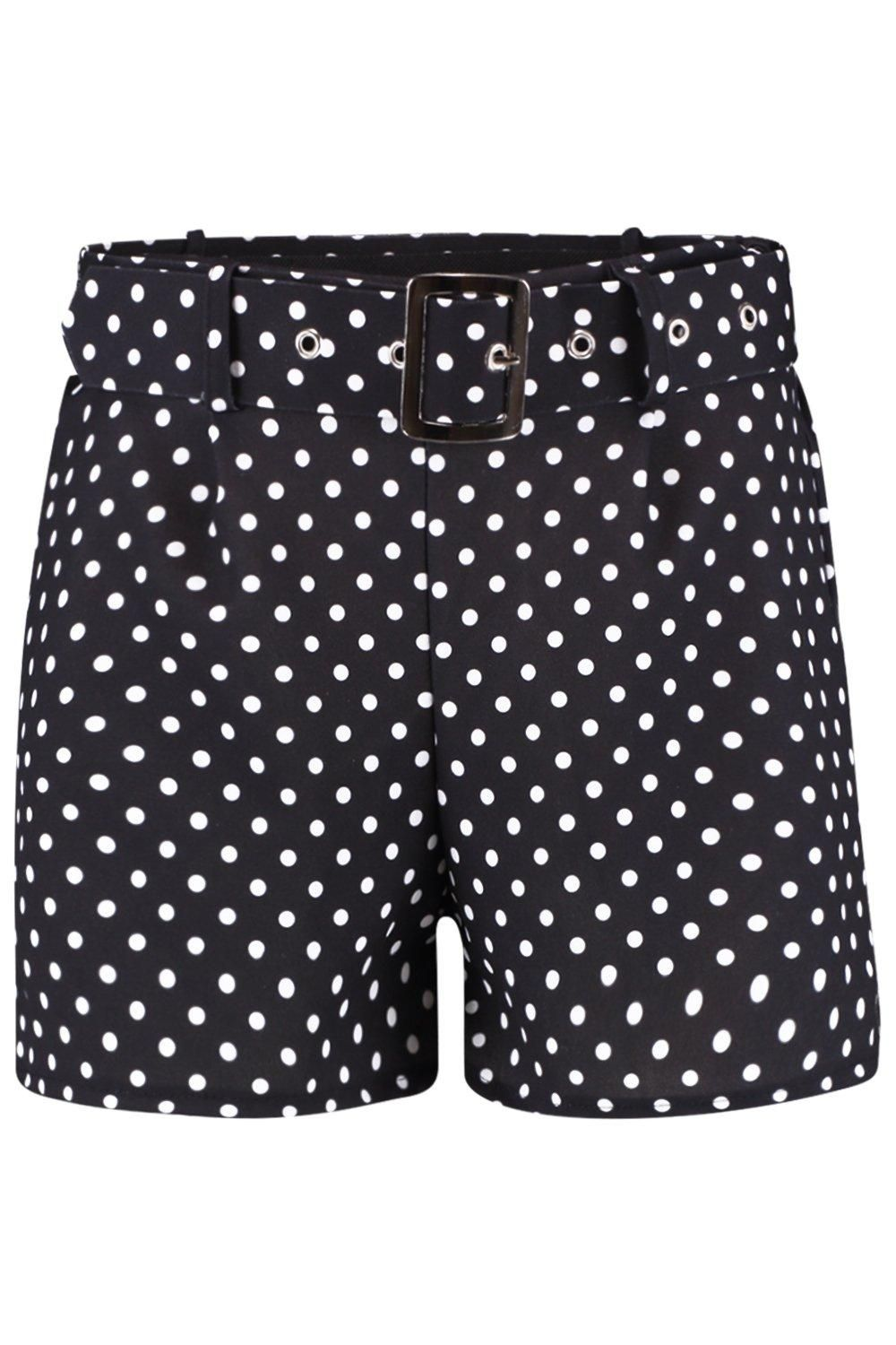 Shorts & Bermudas NEW LADIES WOMENS  Sally Gingham Ruffle Hem Shorts