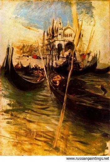 Boldini Giovanni - 'San Marco a Venezia'  GIOVANNI BOLDINI (Ferrara, 31 dicembre 1842 – Parigi, 11 gennaio 1931   #TuscanyAgriturismoGiratola