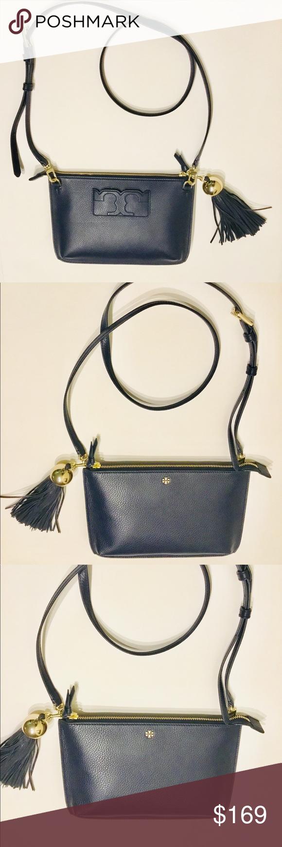 Spotted while shopping on Poshmark  🎊 🎉🎈 Tory Burch Tassel Crossbody in  Navy Blue!  poshmark  fashion  shopping  style  Tory Burch  Handbags b183d7d112