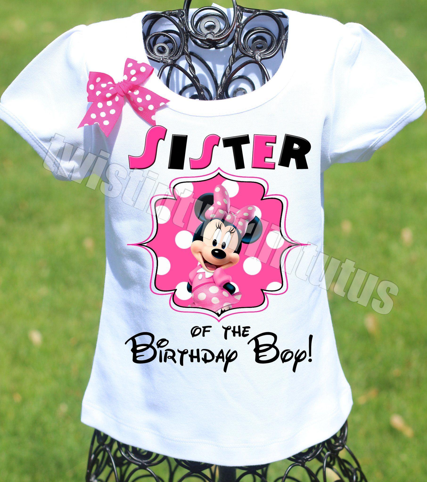 07f486db Adult Mickey Mouse Clubhouse Birthday Shirt Minnie | playeras ...