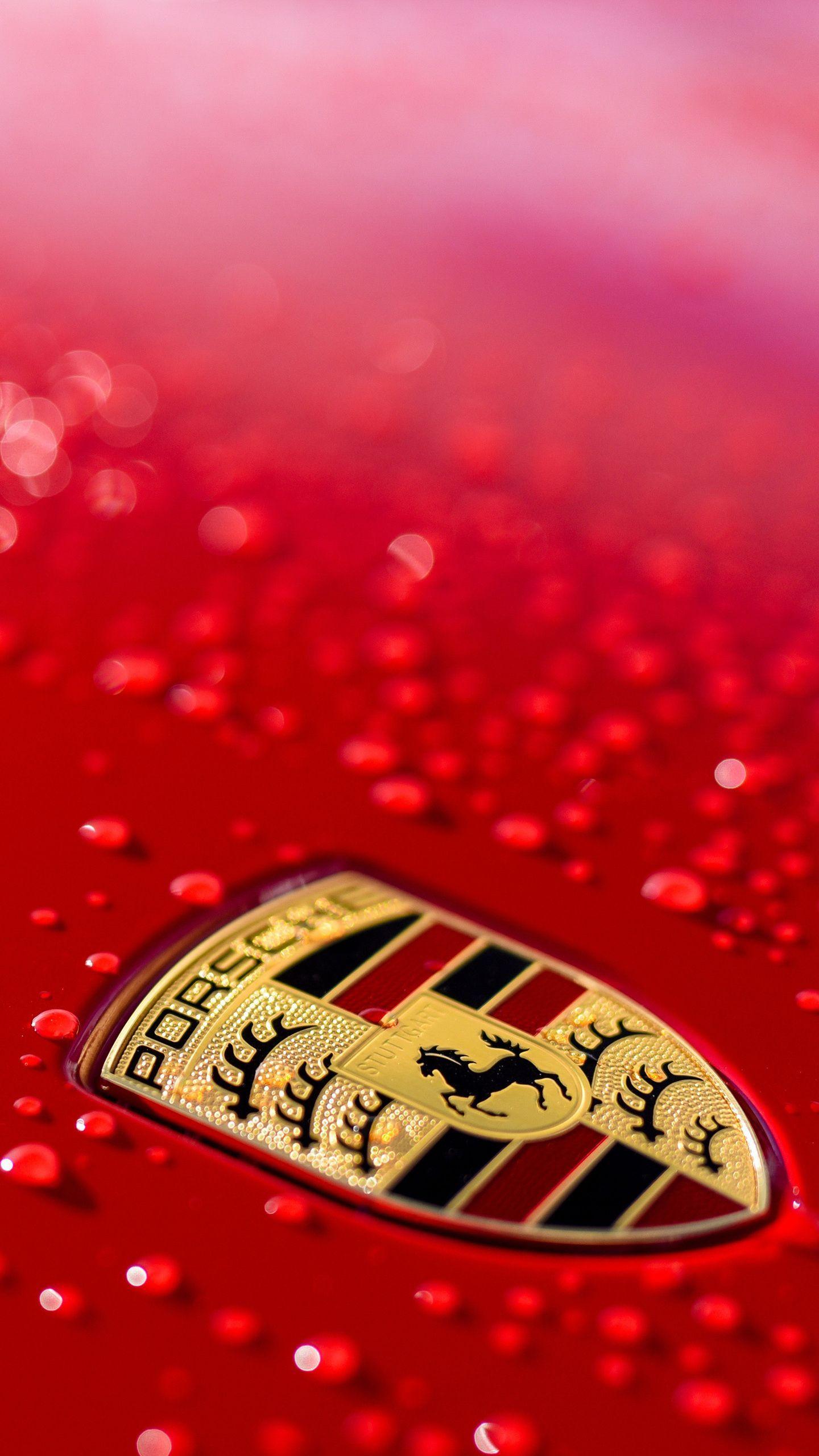 Porsche Logo Wallpaper Porsche Wallpaper Car Wallpapers Car Wallpapers Luxury Car Logos Porsche Logo