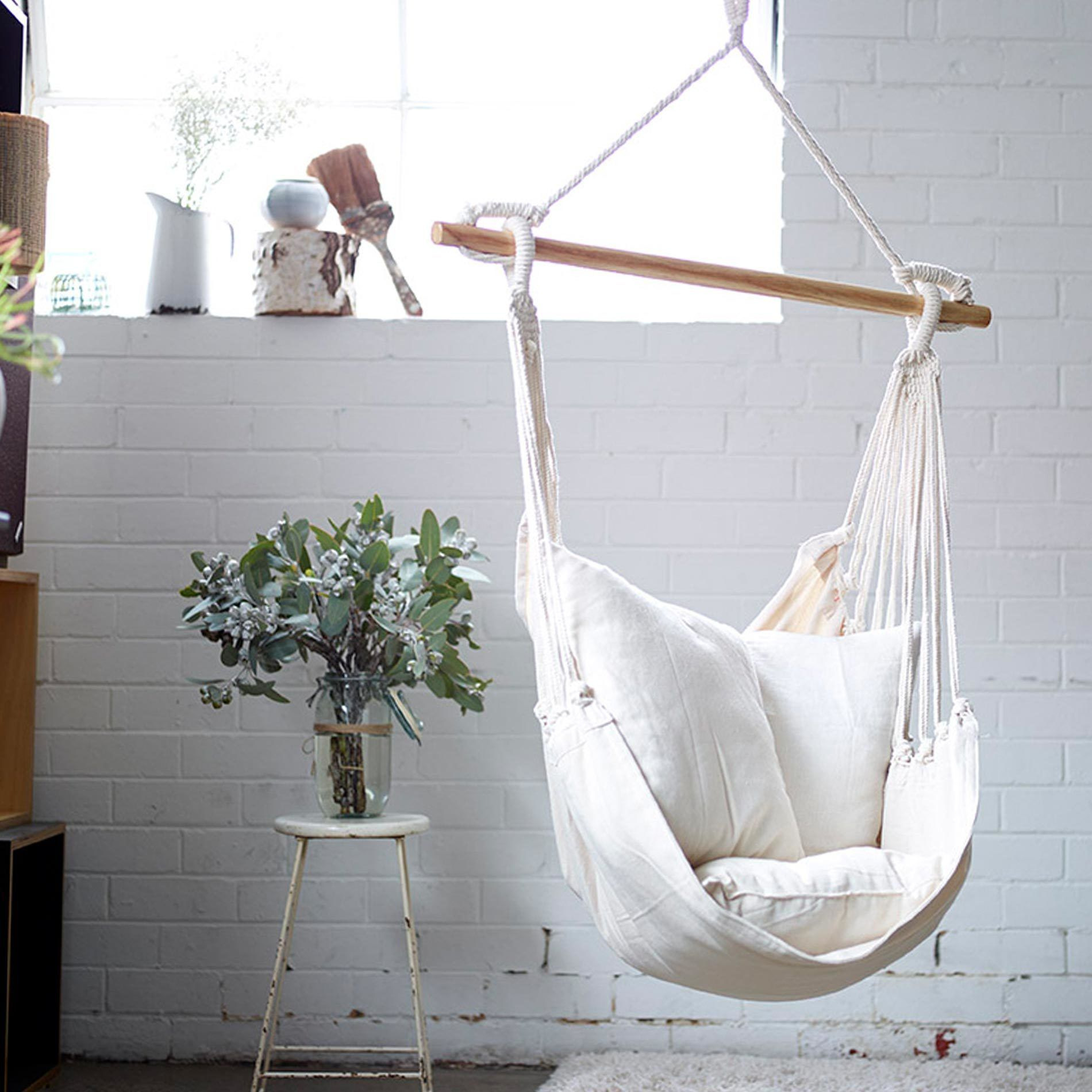 Swing Chair For Bedroom: Hanging Hammock Chair, Hammock Swing Chair