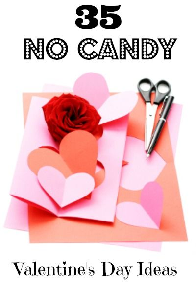35 No Candy Valentine\'s Day Ideas | Cards, Holidays and Gift