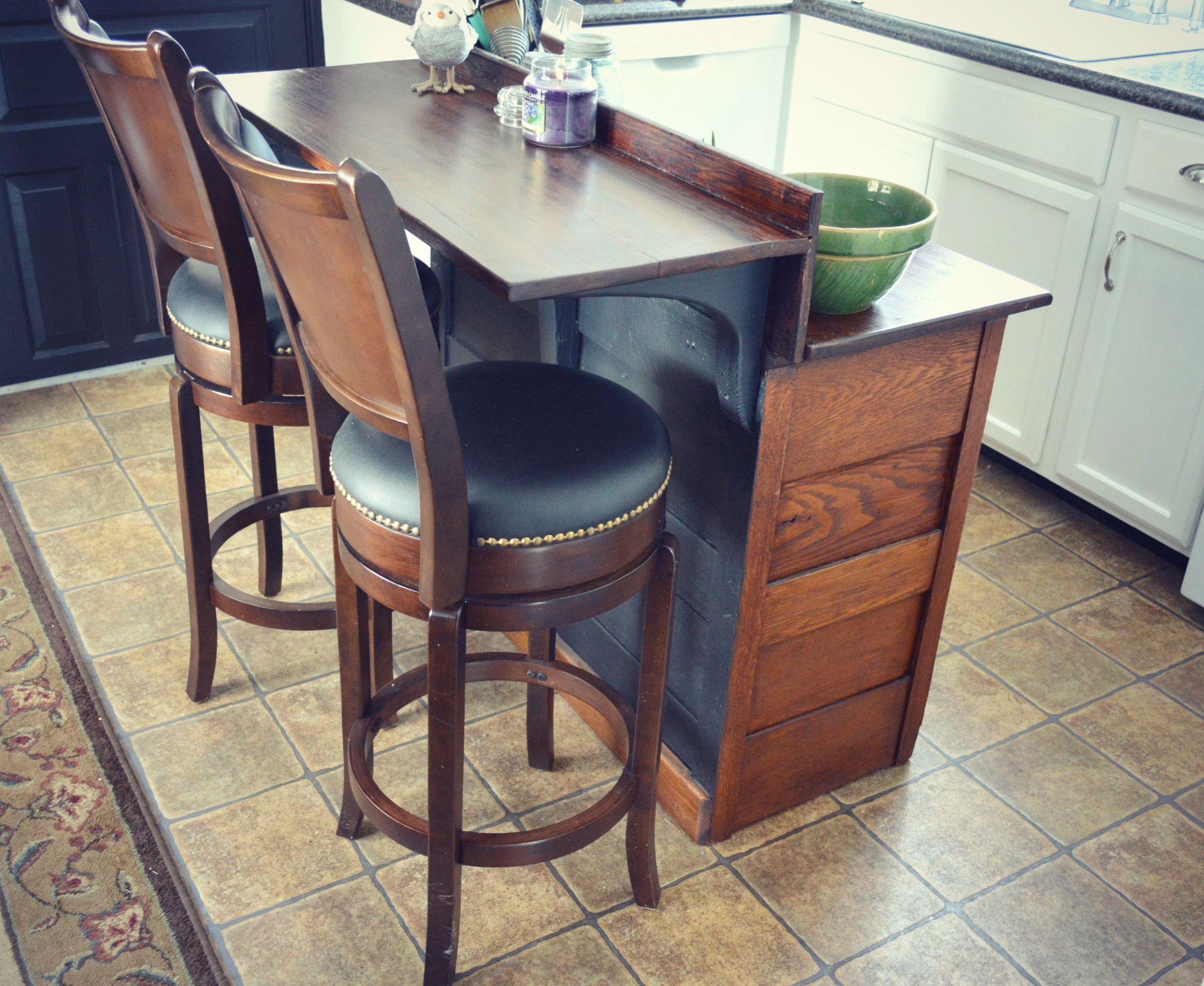Dresser Turned Into Kitchen Island Google Search Rustic Kitchen Island Dresser Kitchen Island Diy Kitchen
