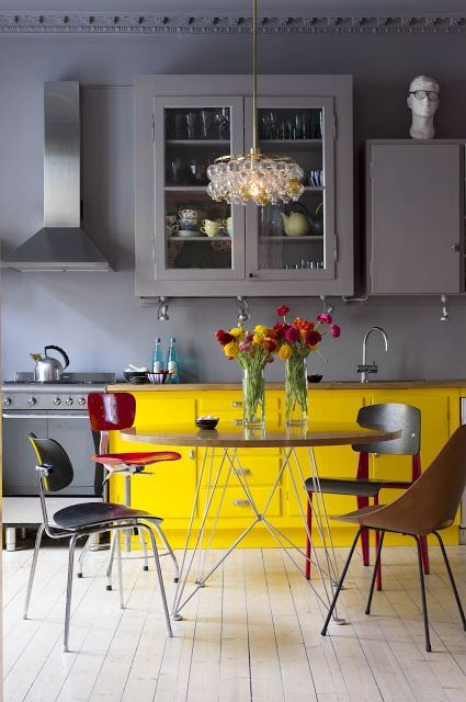 Um ponto iluminado | Wall décor, Kitchens and Walls