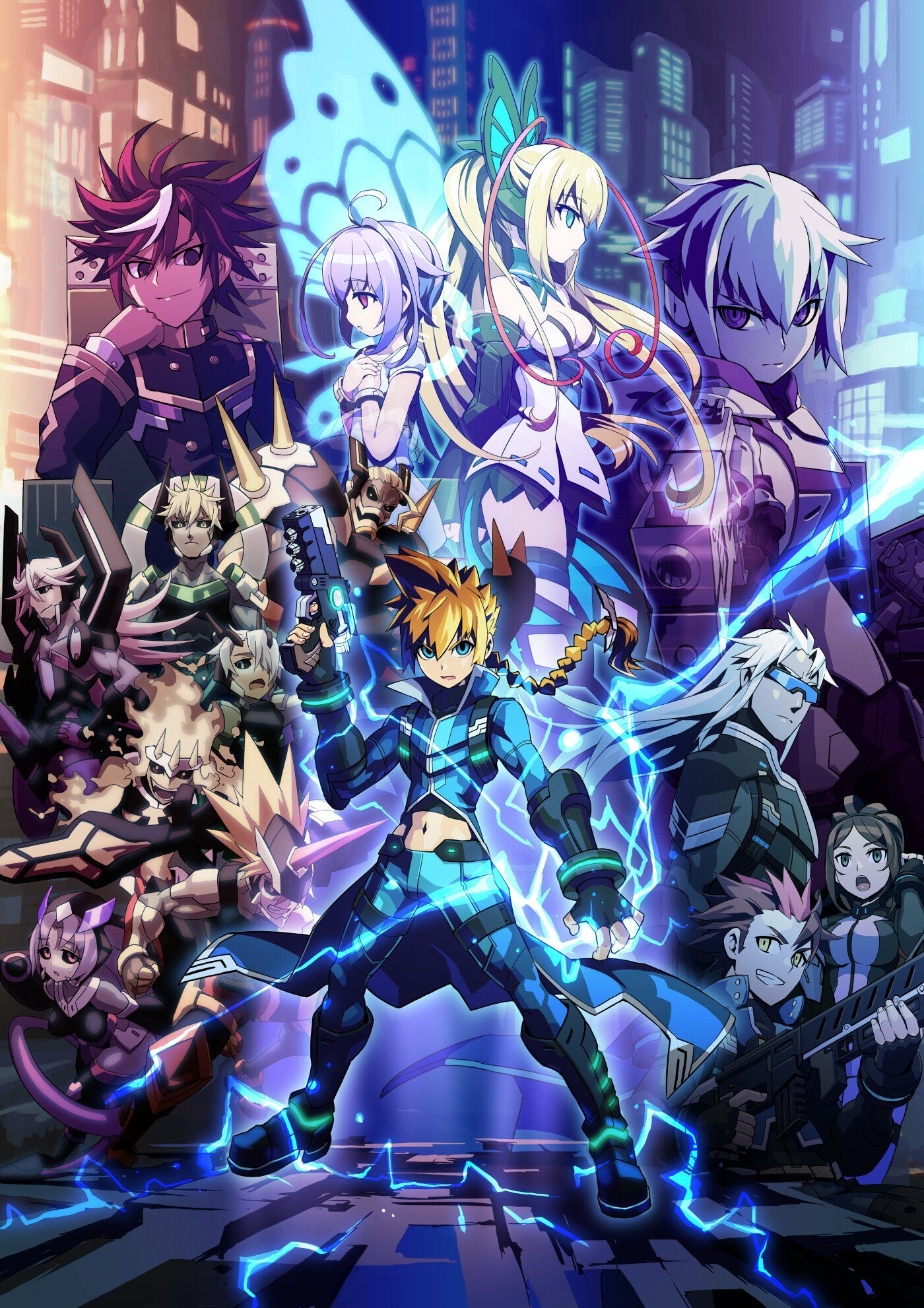 Pin by Joshua Gray on azure striker gunvolt Azure