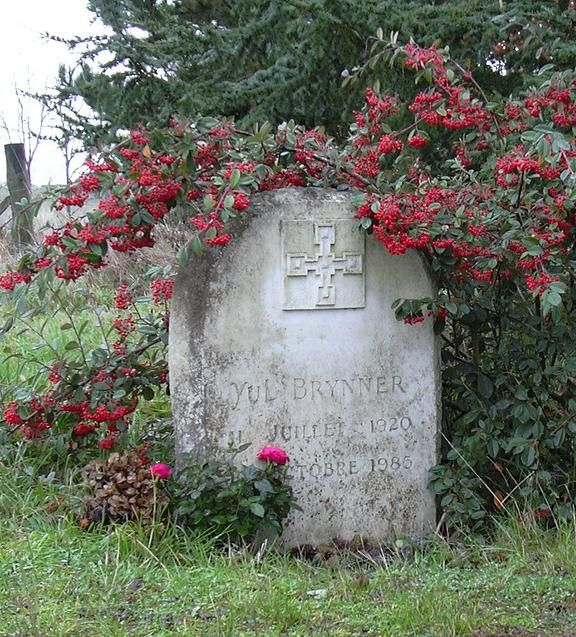 yul brynner 1920 1985 find a grave photos actors graves and