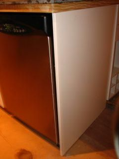 Dishwasher At End Of Cabinet Run 30 X 40 Cover Panel Not A Standard Base