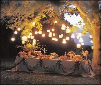 Outdoor Party Decoration Ideas  Transform Your Backyard