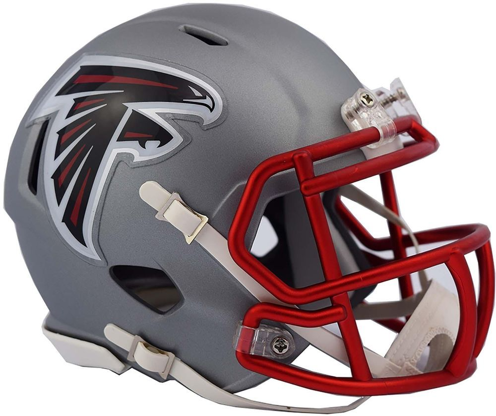 A Must Have Addition To Any Collection Team Atlanta Falcons Signed Jerseys Product Id 6855855 With Images Mini Football Helmet Atlanta Falcons Helmet Falcons Helmet