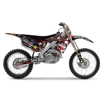 Fx Brian Deegan Fmx Graphics Kit W Backgrounds Honda Crf