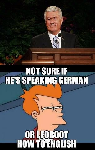 It S So Funny When He Apologised To President Thomas S Monson Ldsconf Lds General Conference Lds Memes Church Memes
