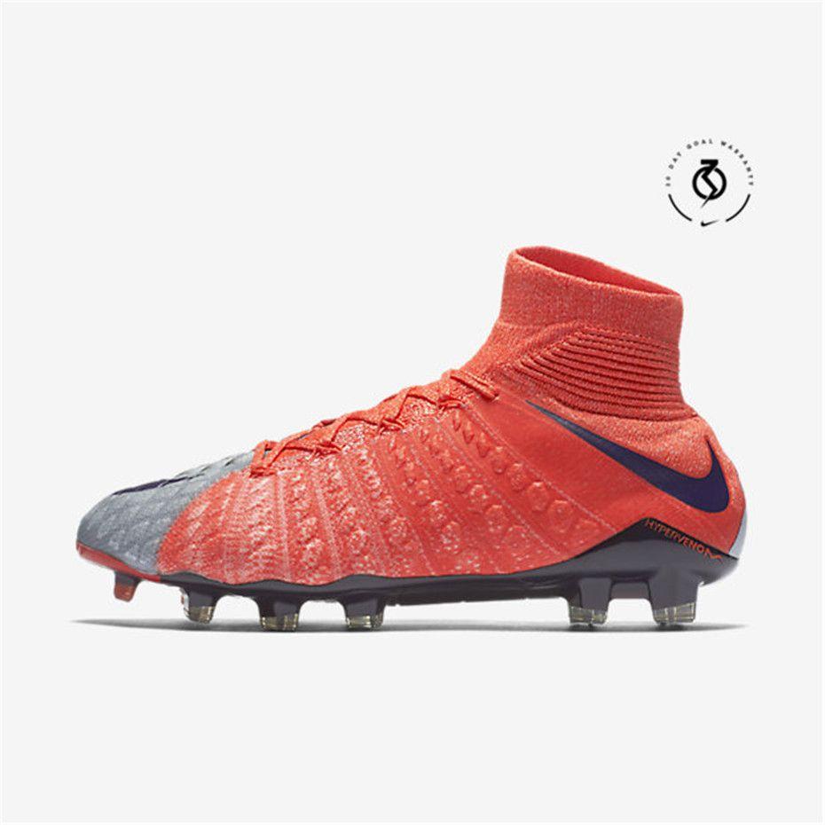 f7c2eb51a8e Nike Hypervenom Phantom 3 DF FG (Wolf Grey   Max Orange   Bright Melon    Purple Dynasty)