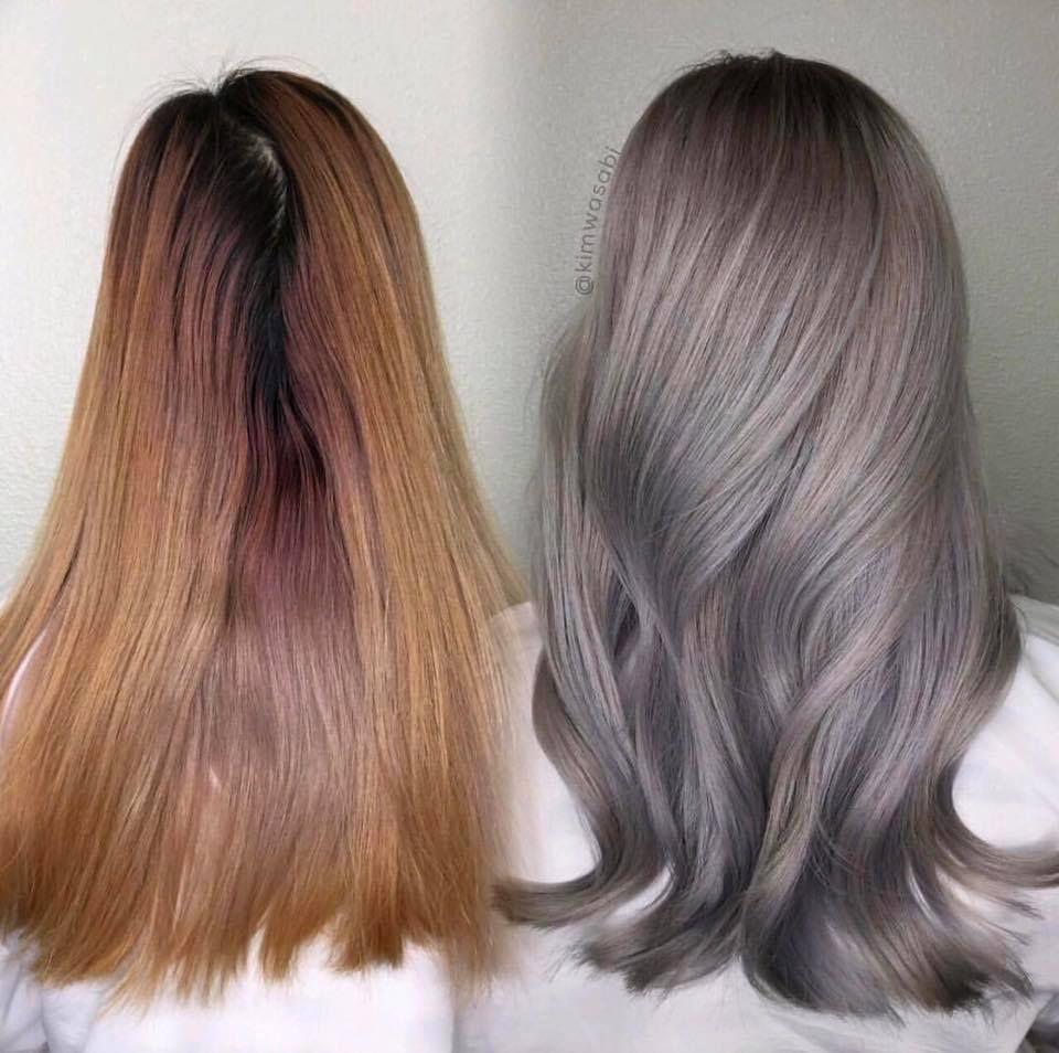 Ba Kim Wasabi Of Excellent Hair Salon 14 Hour Color