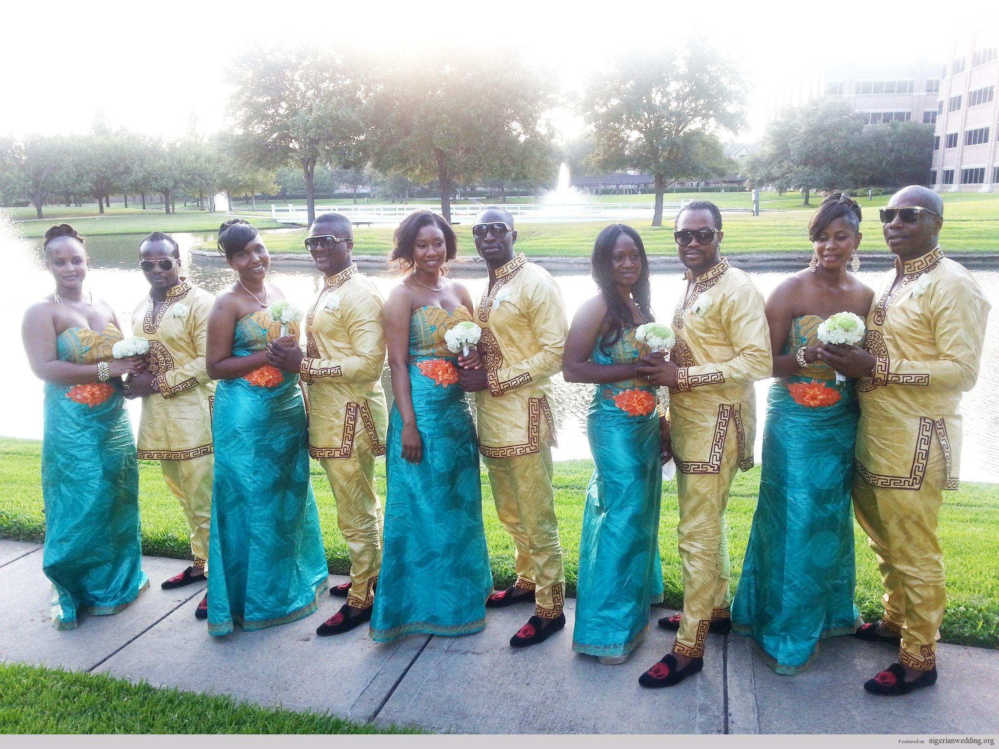 Nigerian wedding mrumrs komeh sierria leaone wedding in texas