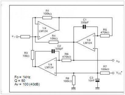 Lm324n Application Circuits Elprocus Pinterest Circuits
