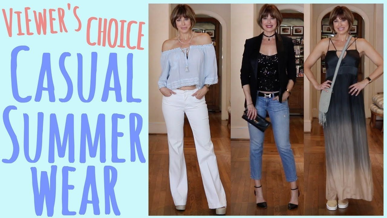 Viewers' Choice: Casual Summer Wear   Dominique Sachse - YouTube