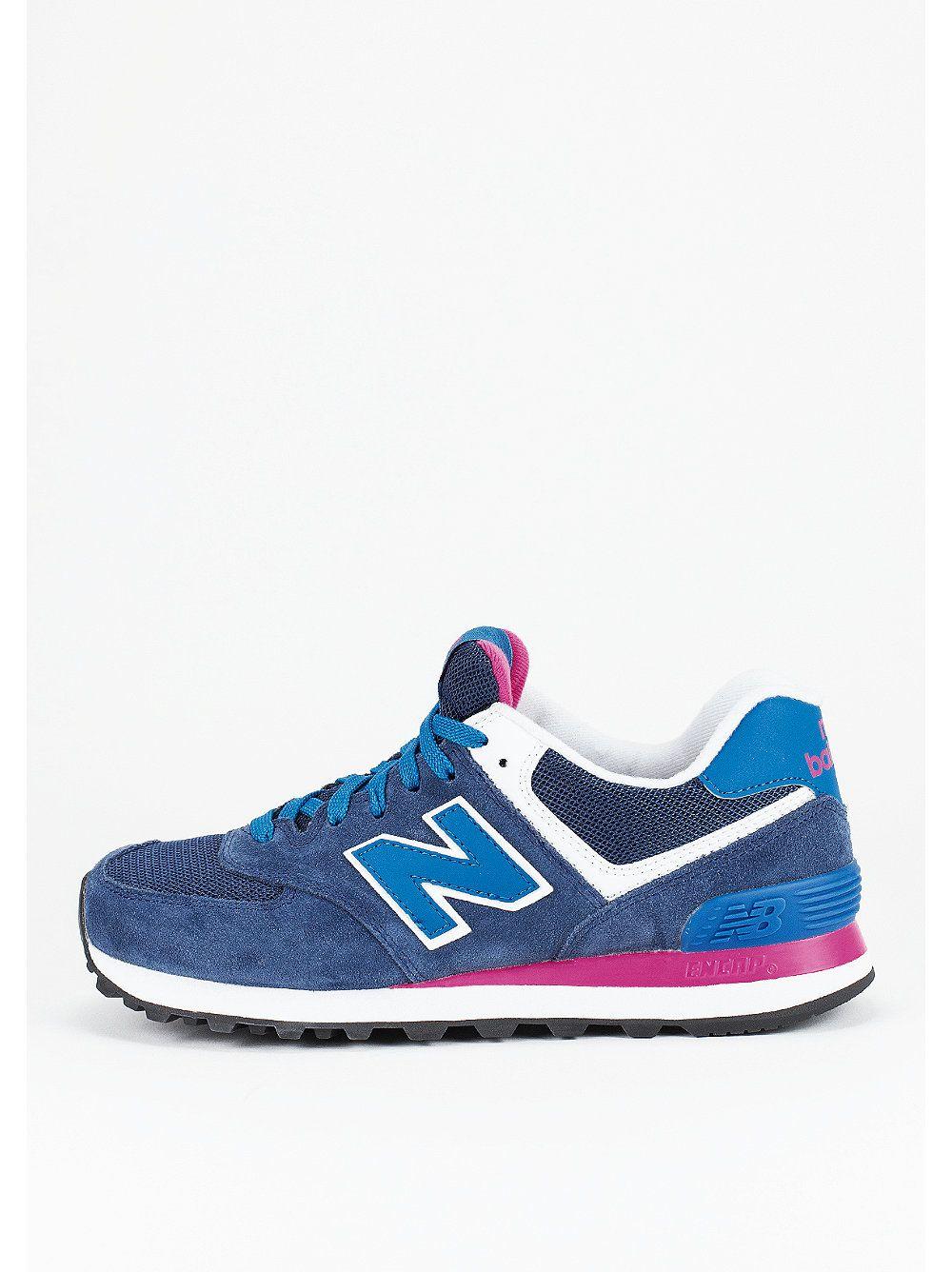 new balance blu rosa