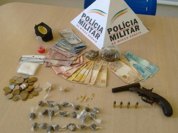 #News  Homem é preso com drogas, arma e munições em Timóteo, MG