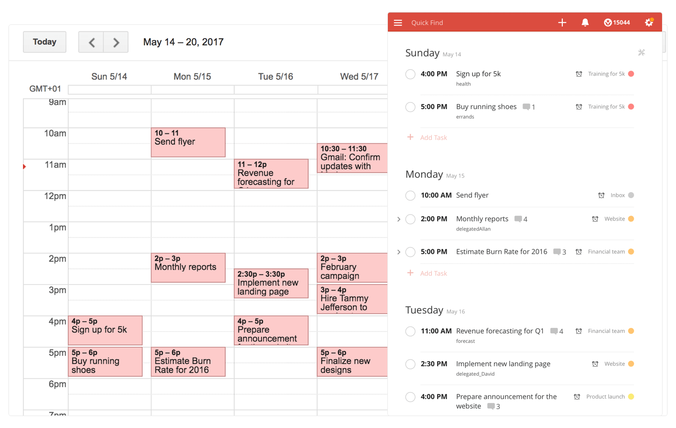 Integrate Todoist with Google Calendar (A Realtime, 2Way