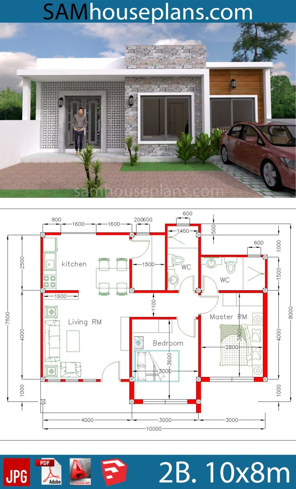 Modern Bungalow Floor Plans