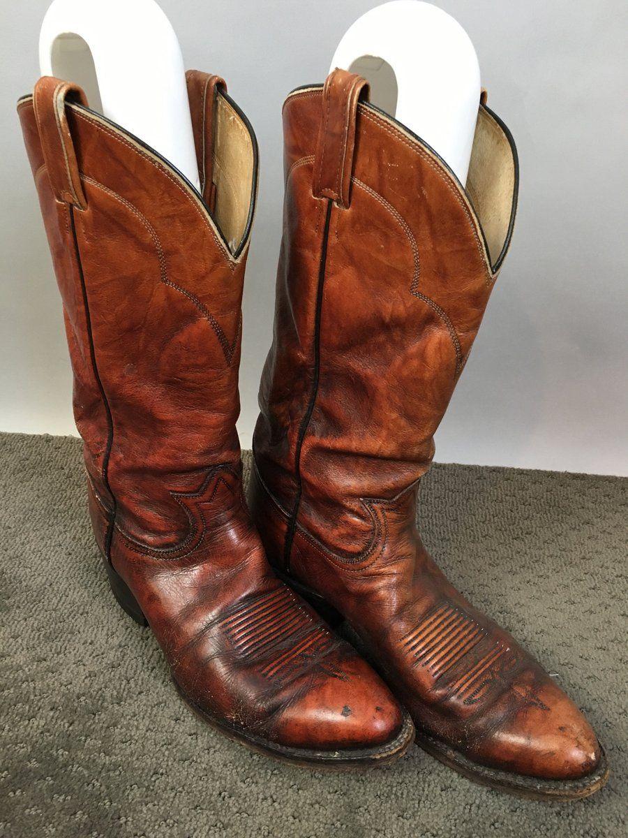 3b82a1ce45a Vintage Tony Lama Boots// Mens Size 8 Vintage Cowboy Boots// Vintage ...