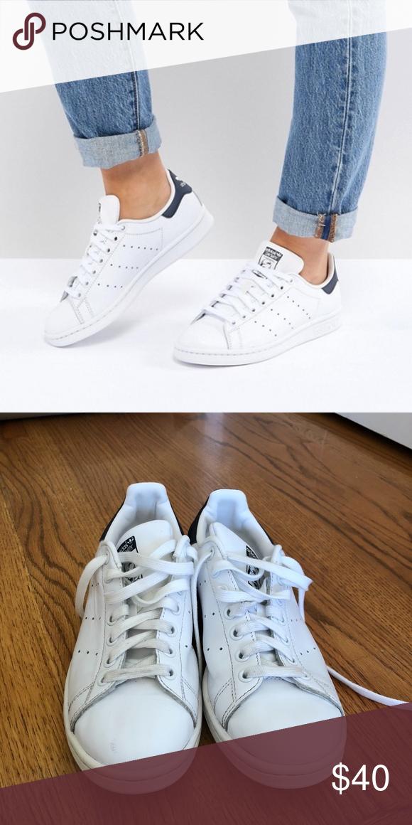 check out e82da cd6fb adidas Shoes | Stan Smith Adidas Size 8 | Color: Tan | Size ...