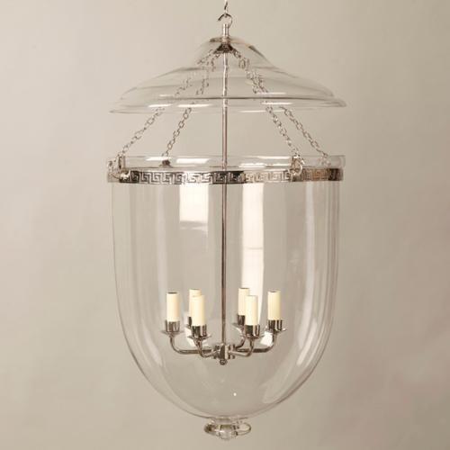 Vaughan Designs | Glass Globe Lantern 21x35