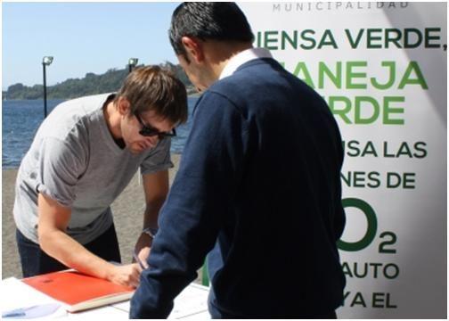 """Chile """"Piensa Verde"""""""