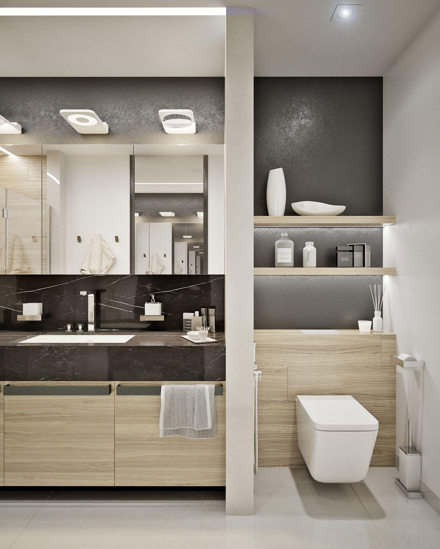 Modern 1 Bedroom Apartment: Apartment In Kharkiv On Behance