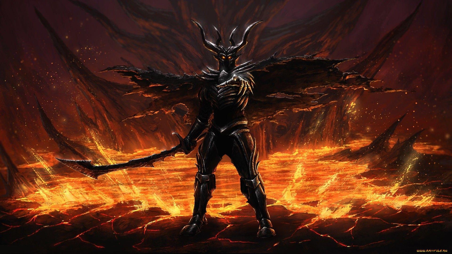 демонический рыцарь картинки может