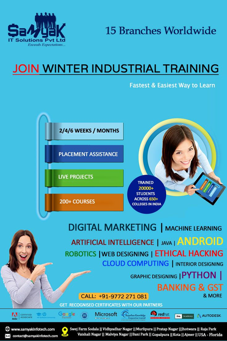 Best Winter Industrial Training Company for Students ...